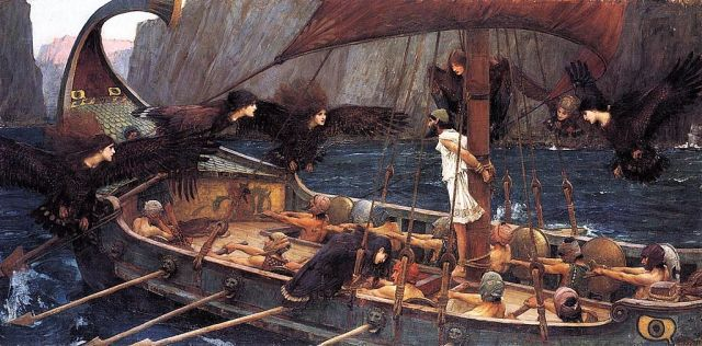 Ulysses and the Sirens, John William Waterhouse.
