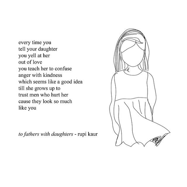 Bilderesultat for rupi kaur daughters