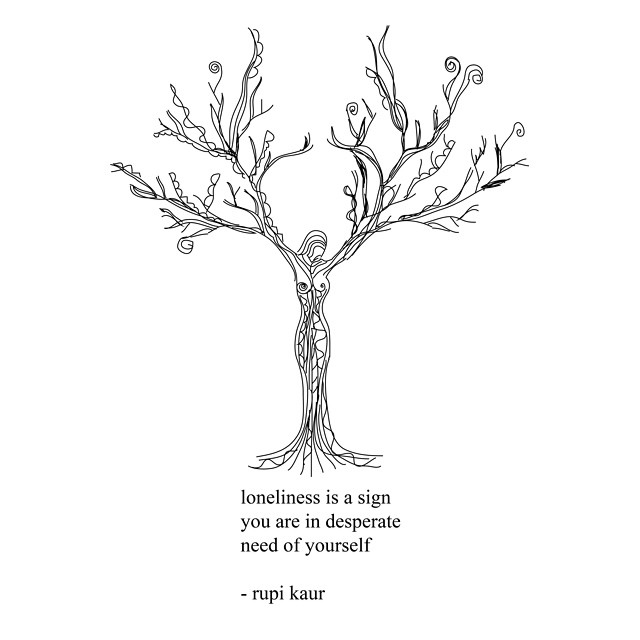 """you are your own soulmate"" by rupi kaur. (CC BY-NC-ND 3.0)"